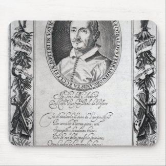 Hieronymus Frescobaldi, engraved by Christian Mouse Pad