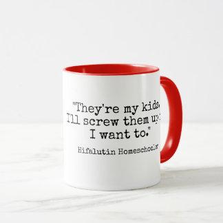 Hifalutin Homeschool Mug