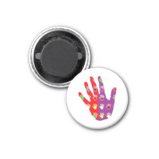 HiFi High5 HighFIVE HAND des cadeaux pour tous 3 Cm Round Magnet