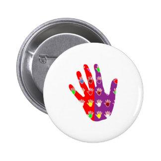 HiFi High5 HighFIVE HAND des cadeaux pour tous Pinback Button