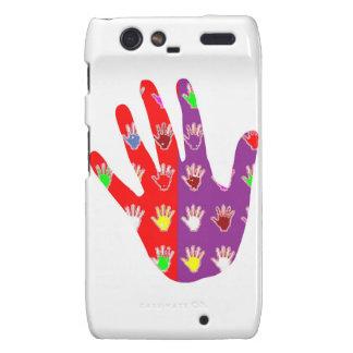 HiFi High5 HighFIVE HAND des cadeaux pour tous Motorola Droid RAZR Cover