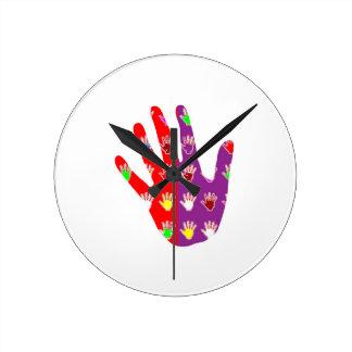 HiFi High5 HighFIVE HAND des cadeaux pour tous Round Clocks