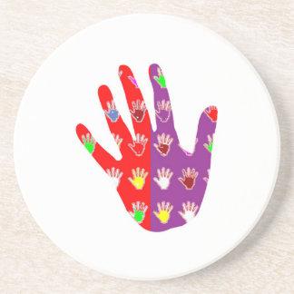 HiFi High5 HighFIVE HAND des cadeaux pour tous Drink Coasters