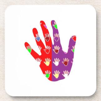 HiFi High5 HighFIVE HAND des cadeaux pour tous Beverage Coasters
