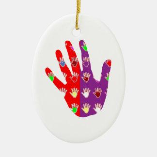 HiFi High5 HighFIVE HAND des cadeaux pour tous Christmas Ornaments