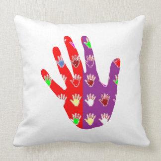 HiFi High5 HighFIVE HAND des cadeaux pour tous Throw Cushion