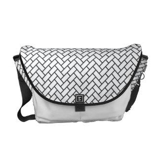 Higaki Japanese Pattern Messenger Bag