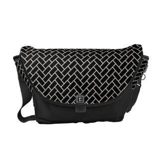 Higaki Japanese Pattern Messenger Bag B