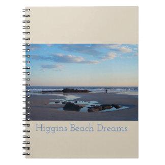 Higgins Beach Dream Notebook