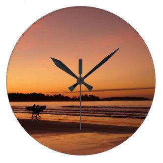Higgins Beach Surfing Clock