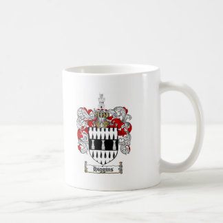 HIGGINS FAMILY CREST -  HIGGINS COAT OF ARMS COFFEE MUG
