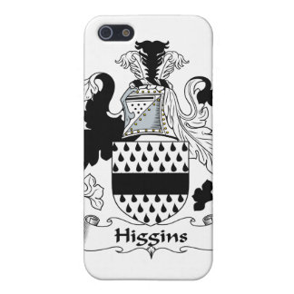 Higgins Family Crest iPhone 5/5S Cases