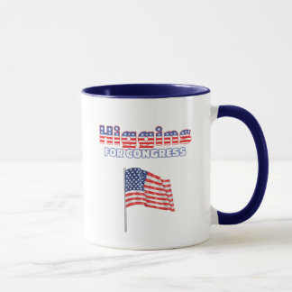 Higgins for Congress Patriotic American Flag Mug