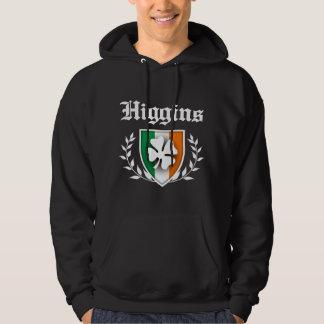 Higgins Shamrock Crest Hoodie