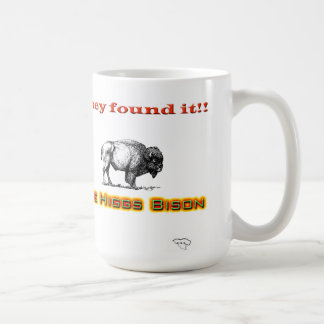 Higgs Bison Coffee Mug
