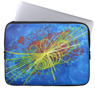 Higgs Boson laptop sleeve