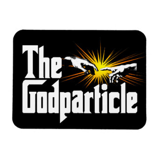 Higgs Boson The Godparticle Rectangular Photo Magnet