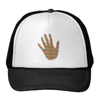 HIGH5 HighFive HIfi dots n circles Graphic Art Soc Trucker Hat