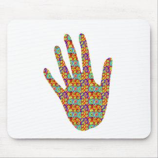 HIGH5 HighFive HIfi dots n circles Graphic Art Soc Mousepads