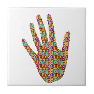 HIGH5 HighFive HIfi dots n circles Graphic Art Soc Ceramic Tile