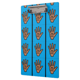 High 5 for Jesus Clipboard