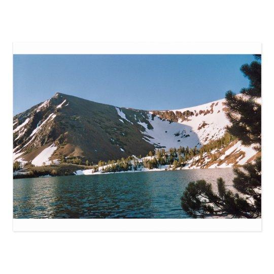 High Altitude Lake Postcard