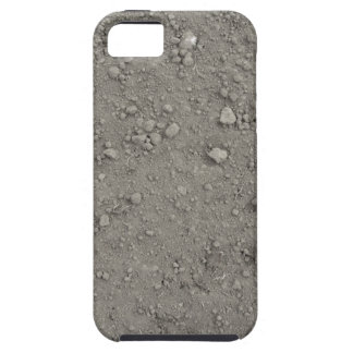 High angle view of brown ground case for the iPhone 5