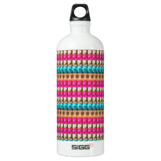 High ATTITUDE Fashion Jewels Crystal GEMS 99 SIGG Traveller 1.0L Water Bottle