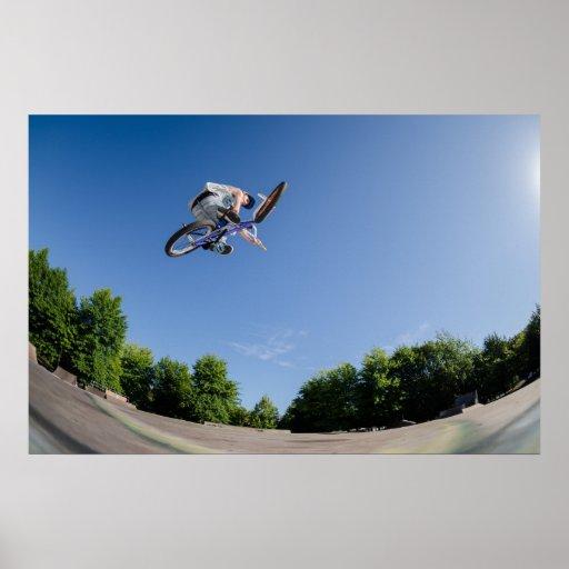 High BMX jump Posters