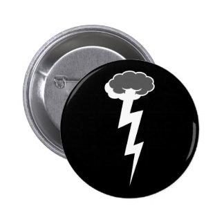 High Boltage 6 Cm Round Badge