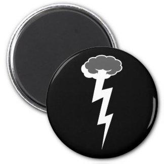 High Boltage 6 Cm Round Magnet