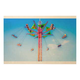 High Carnival Ride In The Sky Print