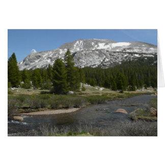 High Country Mountain Stream II Yosemite Park Card