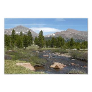 High Country Mountain Stream Photo Print