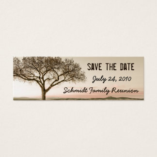 High Country Save the Date Bookmark Card