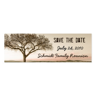 High Country Save the Date Bookmark Card Pack Of Skinny Business Cards