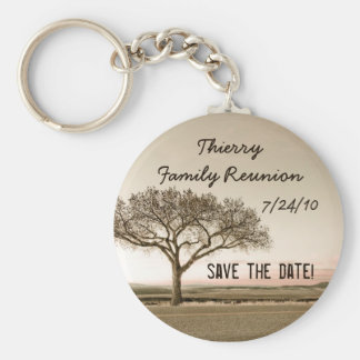 High Country Save the Date Key Ring