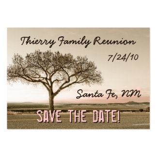 High Country Save the Date Mini Cards Pack Of Chubby Business Cards