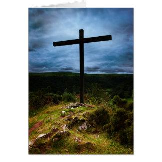 High Cross Card