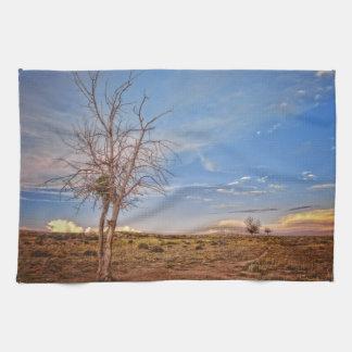 High Desert Beauty Kitchen Towel Western Landscape