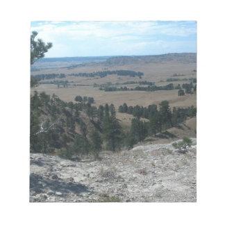 High Desert Hills Notepad