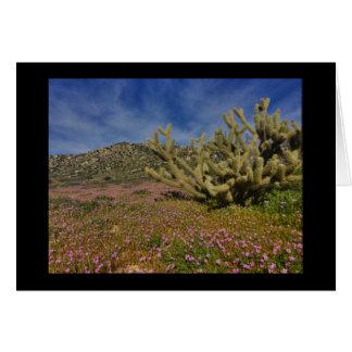 High Desert spring Card