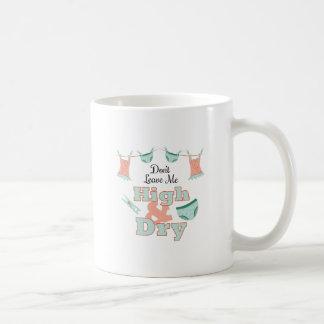 High & Dry Basic White Mug