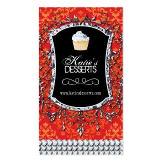High End Cupcake Bakery Business Card