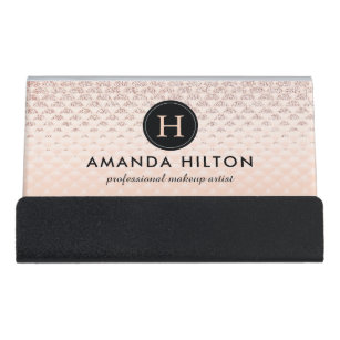 Business card holders zazzle high end luxe desk business card holder reheart Images