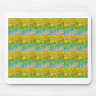 HIGH Energy Art Graphics Waves Pattern Smile Happy Mouse Pad