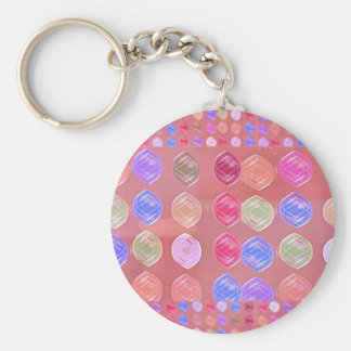 High Energy Diamonds - Share the Joy Basic Round Button Key Ring