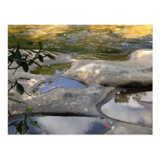 High Falls Cheat River Butterfly Rock Postcards