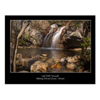 High Falls Waterfall, Talladega National Forest Postcard