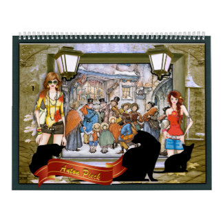High Fashion & Anton Pieck Wall Calendars